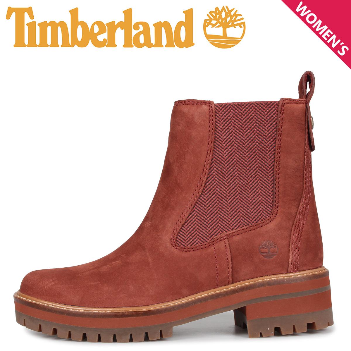 Timberland ティンバーランド ブーツ レディース チェルシー クールマイヨール バレー WOMENS COURMAYEUR VALLEY CHELSEA BOOTS ブラウン A23WJ