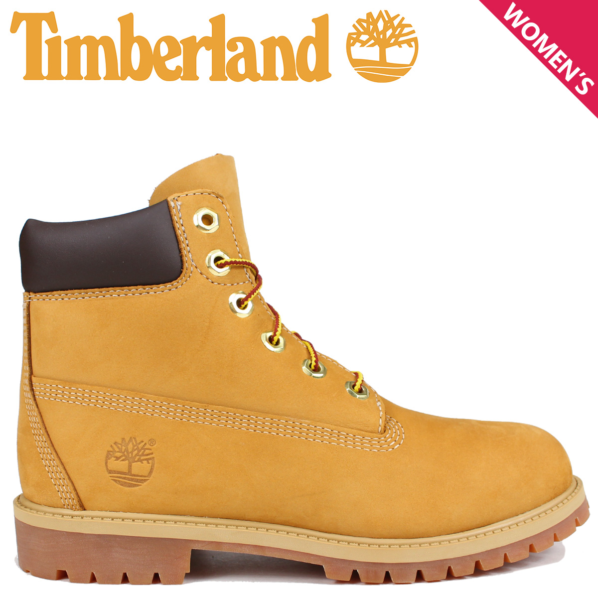 Timberland レディース ブーツ 6インチ ティンバーランド JUNIOR 6INCH PREMIUM WATERPROOF BOOTS 12909 プレミアム ウォータープルーフ