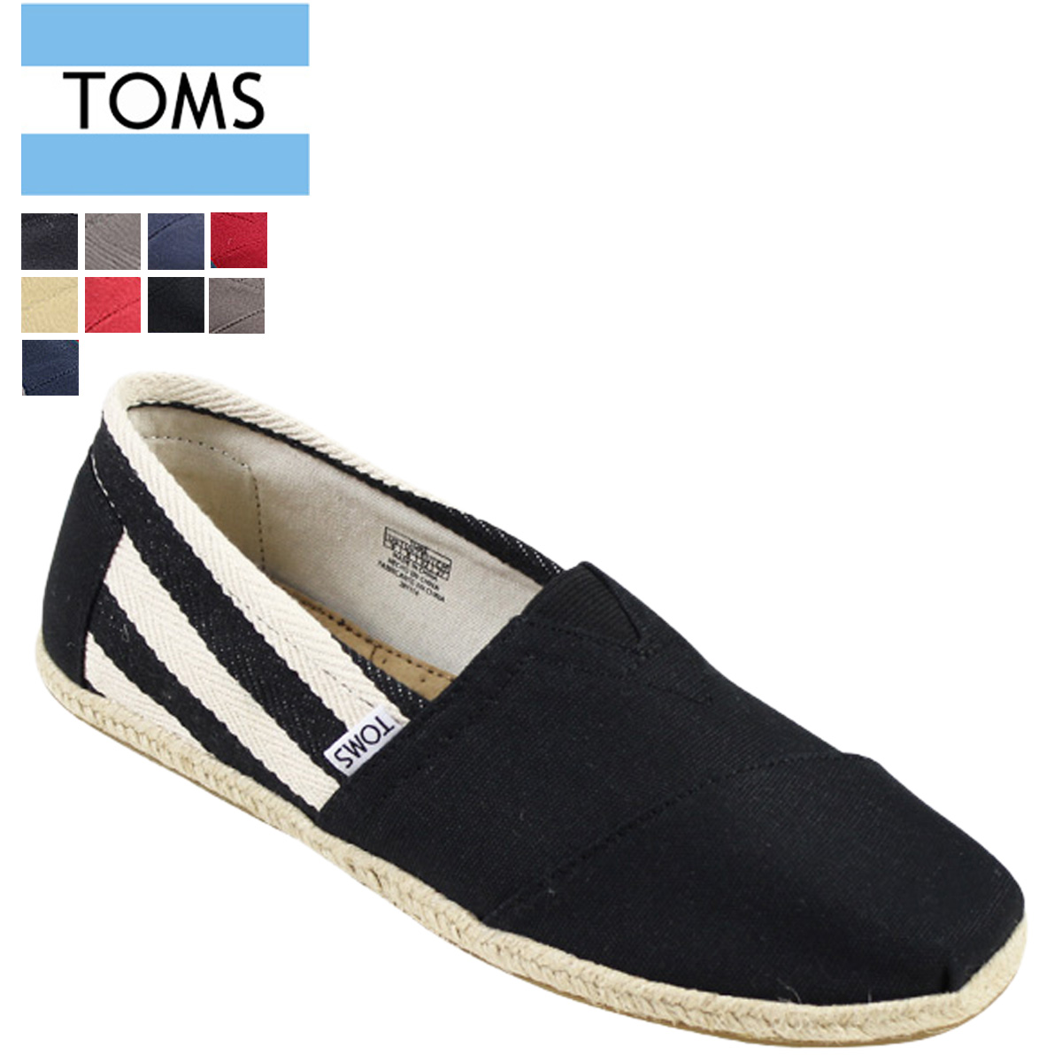 995619c5001 □A brand name: (Thoms shoes) TOMS SHOES □A brand name: UNIVERSITY MEN'S  CLASSICS □A country of origin: CHINA □A comparative price: Brand official  site ...