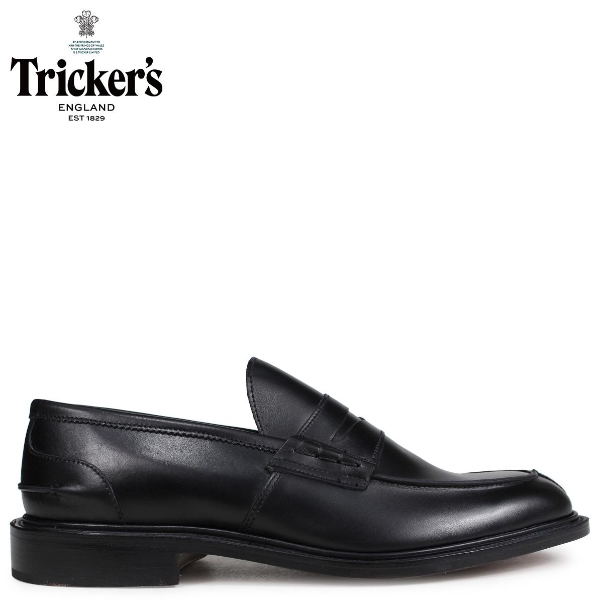 Tricker's トリッカーズ ローファー シューズ JAMES 5ワイズ メンズ ブラック 3227