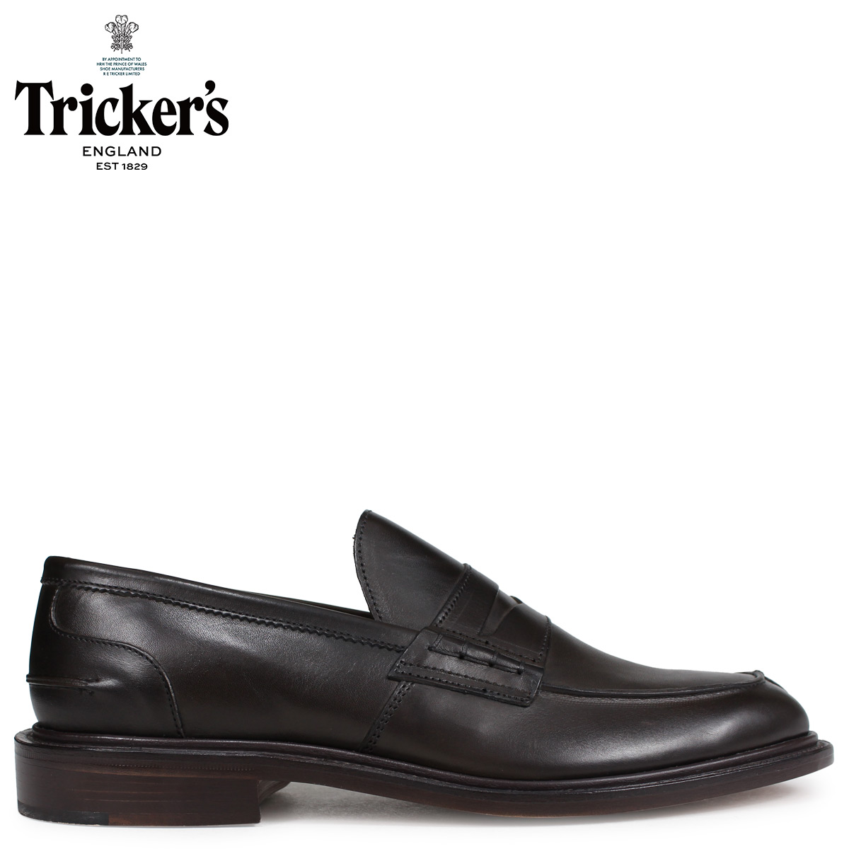 Tricker's トリッカーズ ローファー シューズ JAMES 5ワイズ メンズ ブラウン 3227