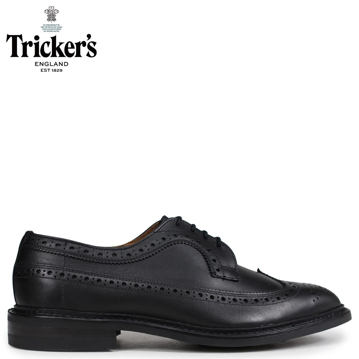 Tricker's トリッカーズ ウイングチップ シューズ RICHARD 5ワイズ メンズ ブラック 5164