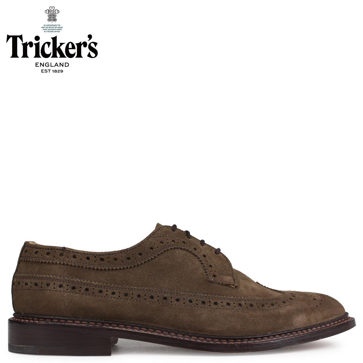 トリッカーズ Tricker's ウイングチップ シューズ RICHARD 5ワイズ メンズ ブラウン 5164