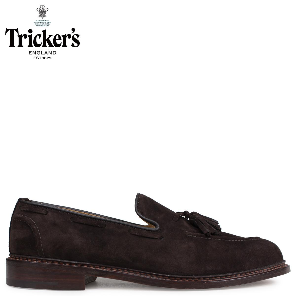 Tricker's トリッカーズ ローファー シューズ タッセルローファー ELTON 5ワイズ メンズ ブラウン 8011