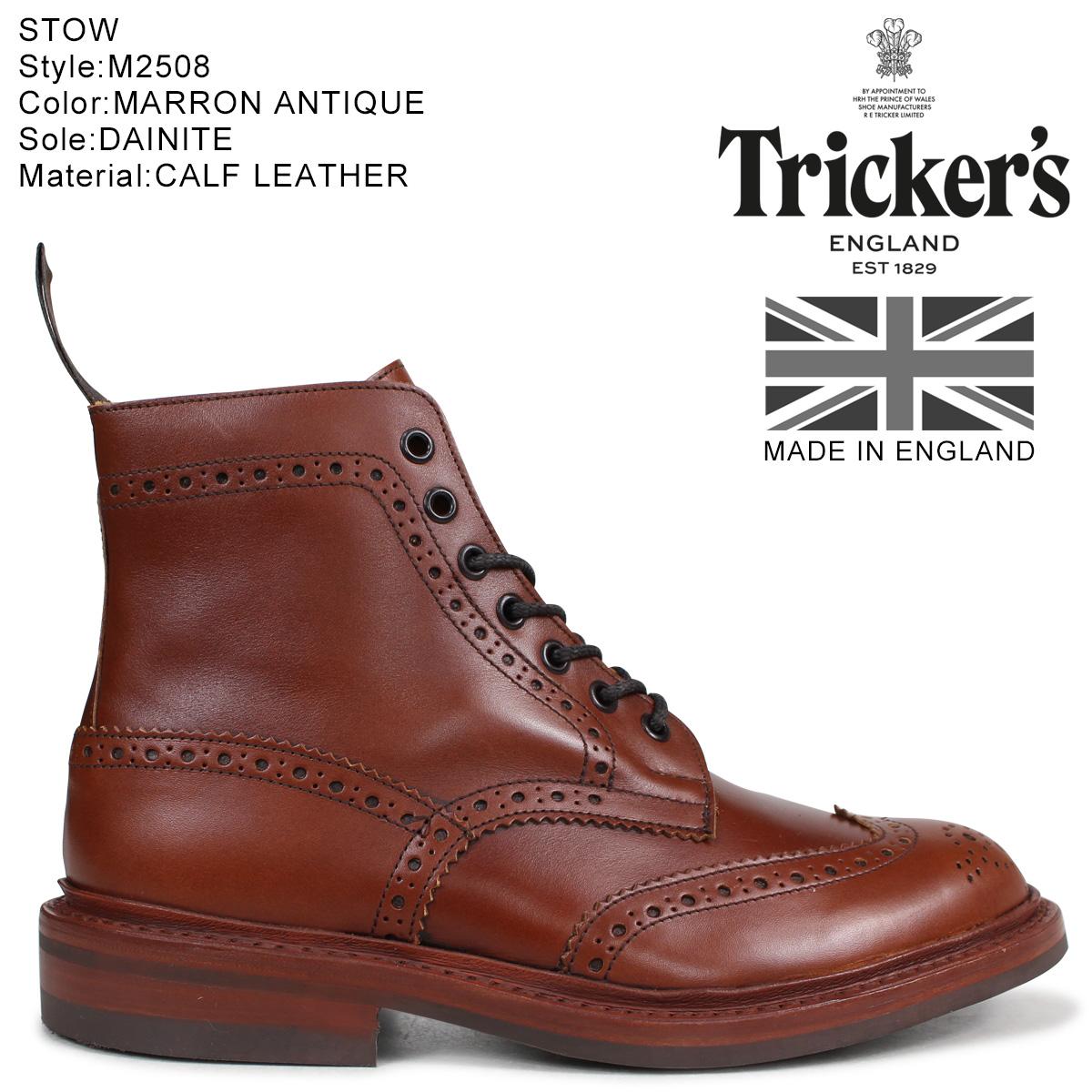 Tricker's トリッカーズ カントリーブーツ STOW M5634 5ワイズ メンズ