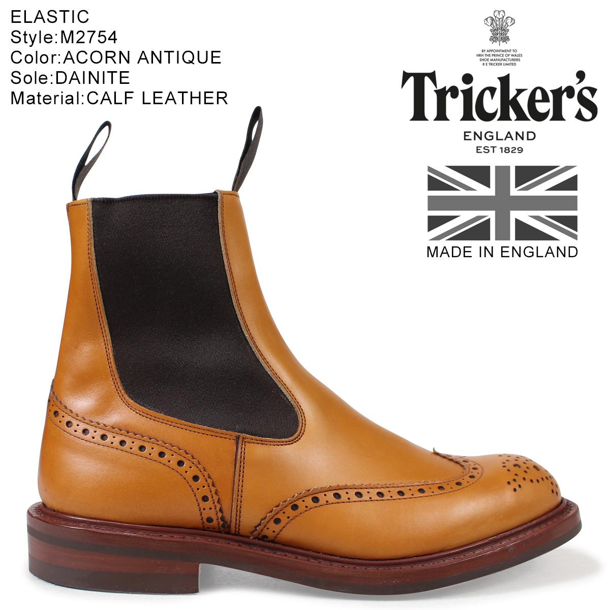 Tricker's トリッカーズ サイドゴアブーツ HENRY M2754 5ワイズ メンズ