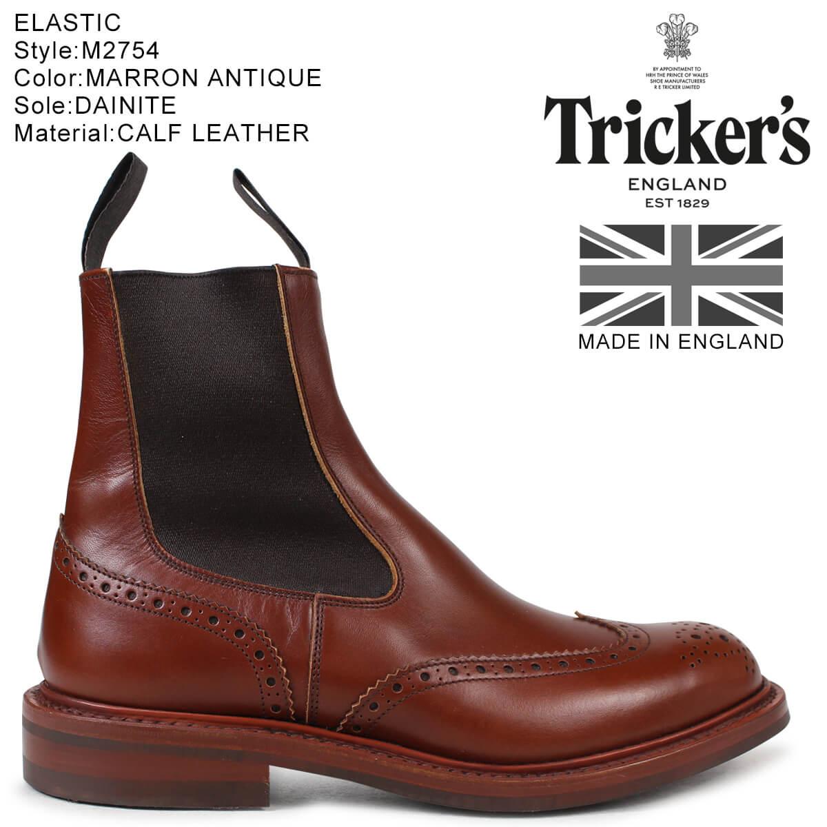 Trickers トリッカーズ サイドゴアブーツ ELASTIC M2754 5ワイズ メンズ
