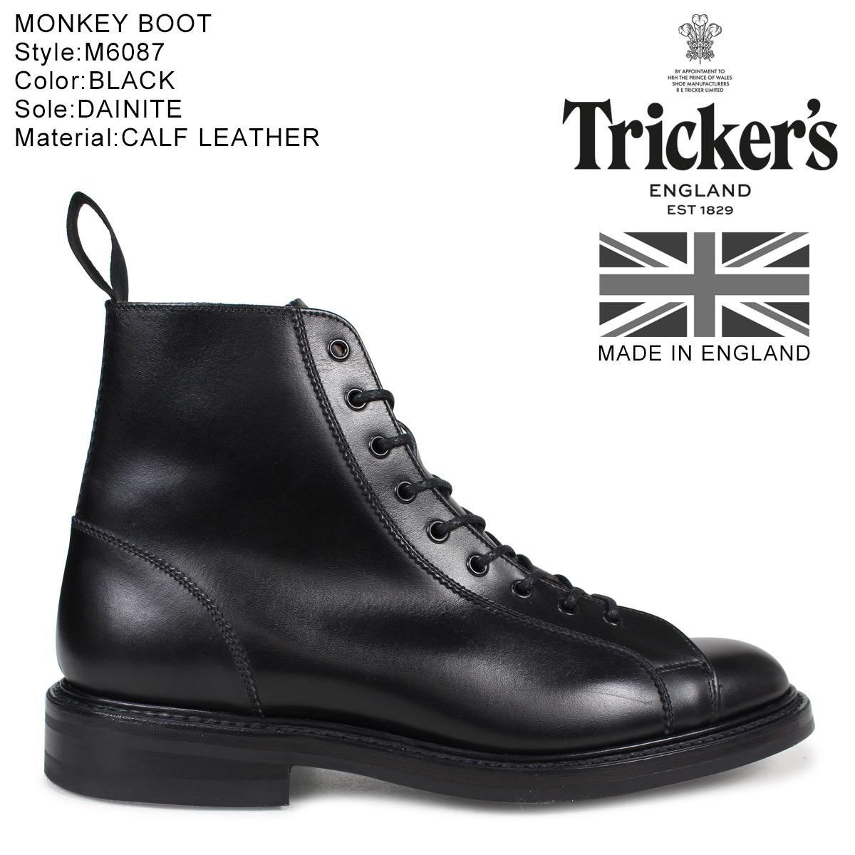 Tricker's トリッカーズ モンキーブーツ MONKEY BOOT M6087 5ワイズ メンズ