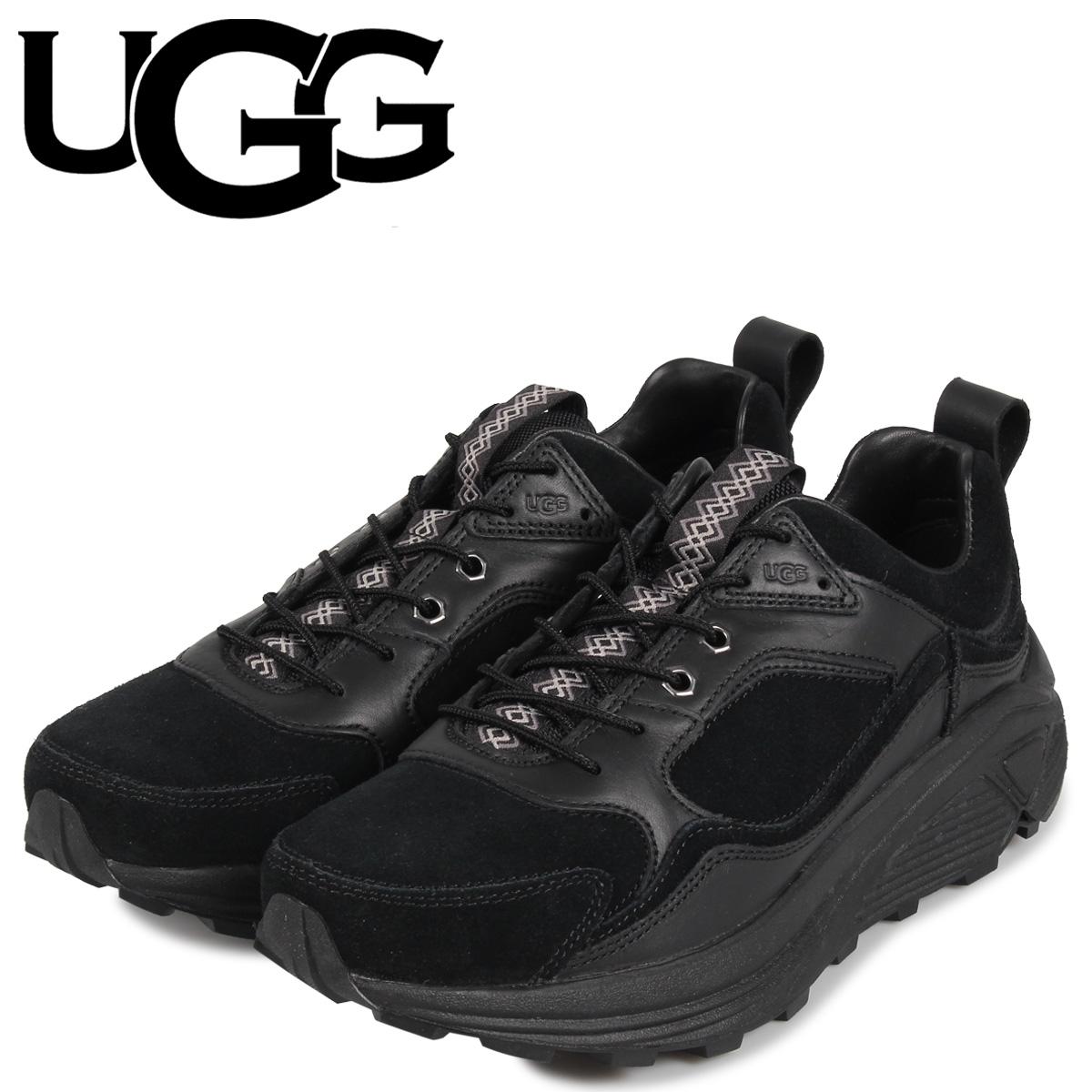 アグ UGG スニーカー トレーナー メンズ 厚底 MIWO LOW TRAINER ブラック 黒 1104970