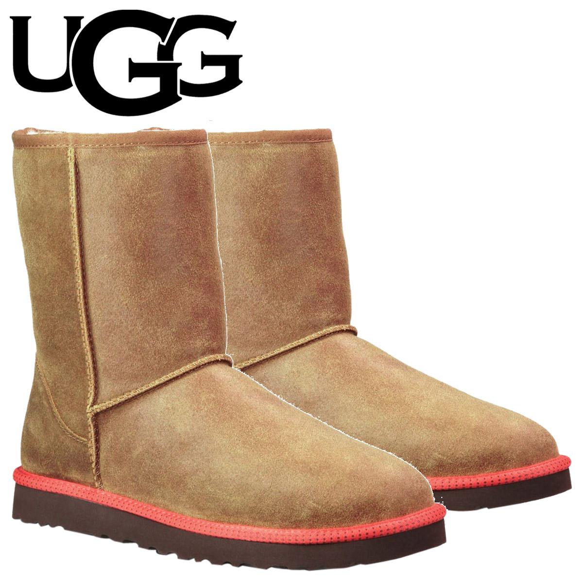 アグ UGG メンズ クラシック ショート ムートンブーツ MENS CLASSIC SHORT 1003950 チェスナット