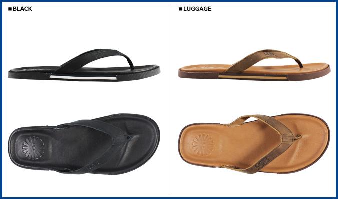 5844038cacf UGG UGG men s Bennison 2 sandal thong Sandals MENS BENNISON II leather  bison flip-flop 2015 spring summer new 1005321 2 color  4   2 new in stock    regular  ...