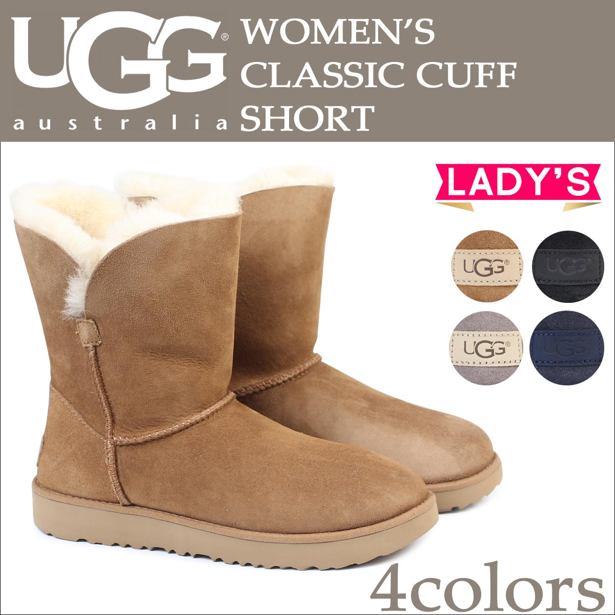 UGG Classic Cuff Short Boot, Women
