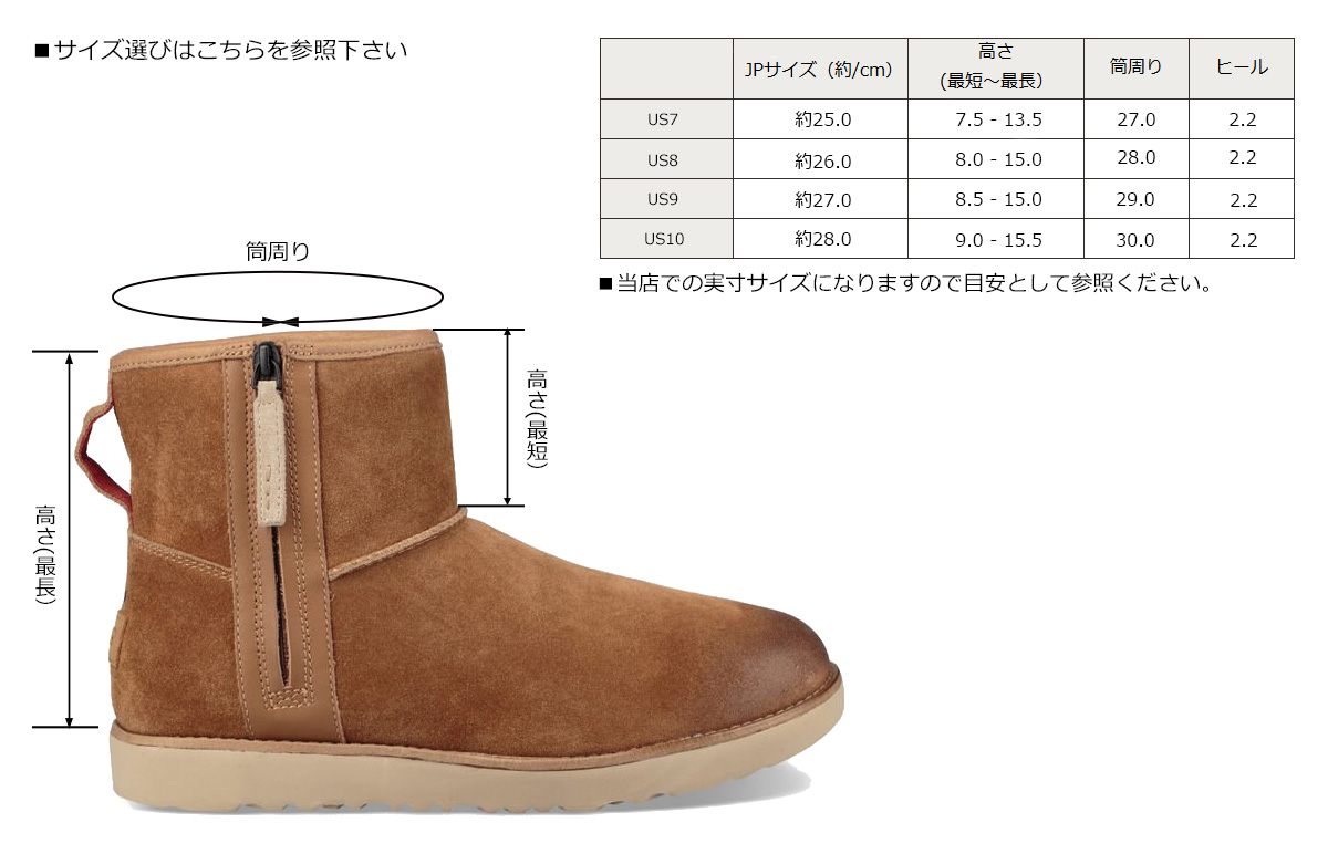 Sugar Online Shop アグ Ugg Classical Music Mini Mouton Boots Men