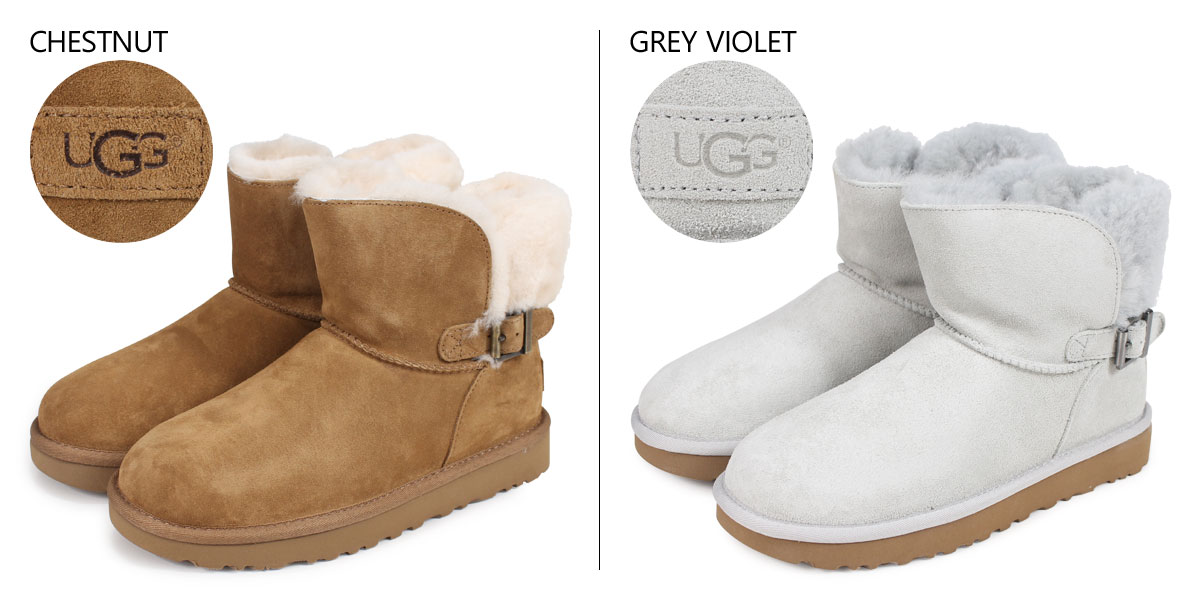 5024f01a03a アグ UGG Karel mouton boots Lady's WOMENS KAREL 1019639 sheepskin suede