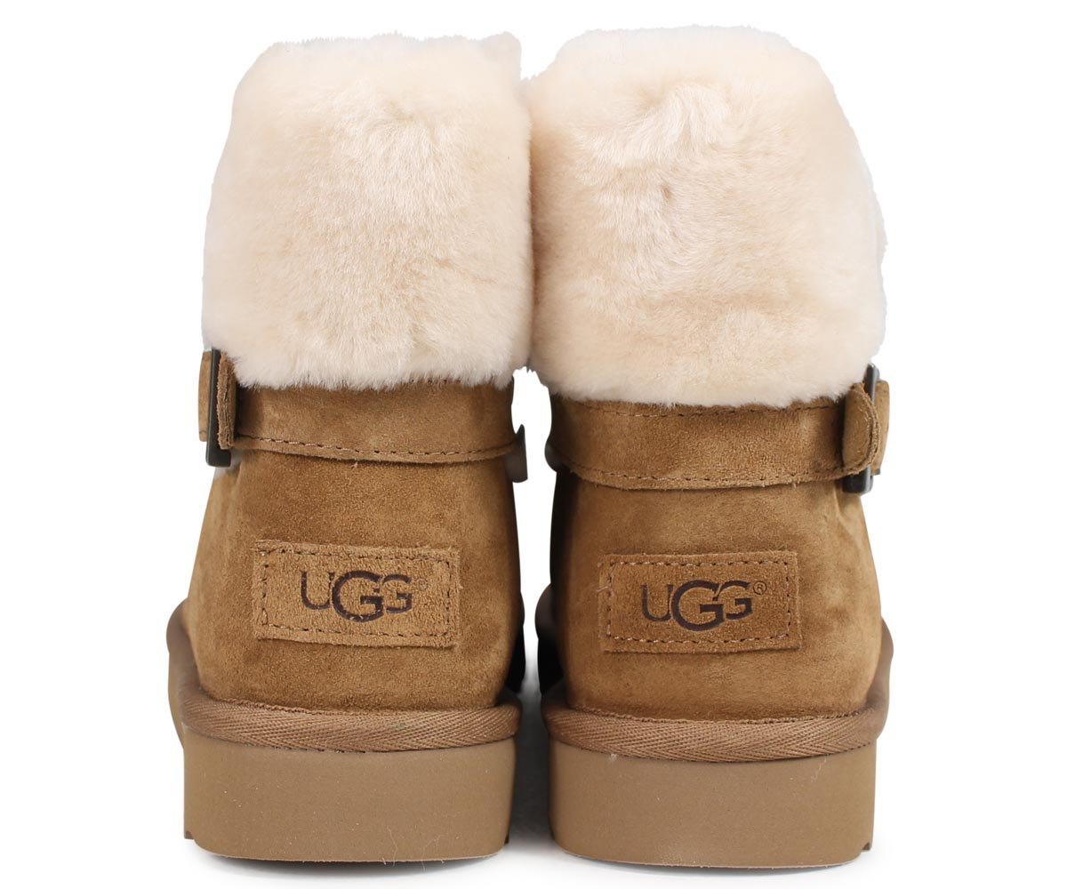 b6744047686 アグ UGG Karel mouton boots Lady's WOMENS KAREL 1019639 sheepskin suede
