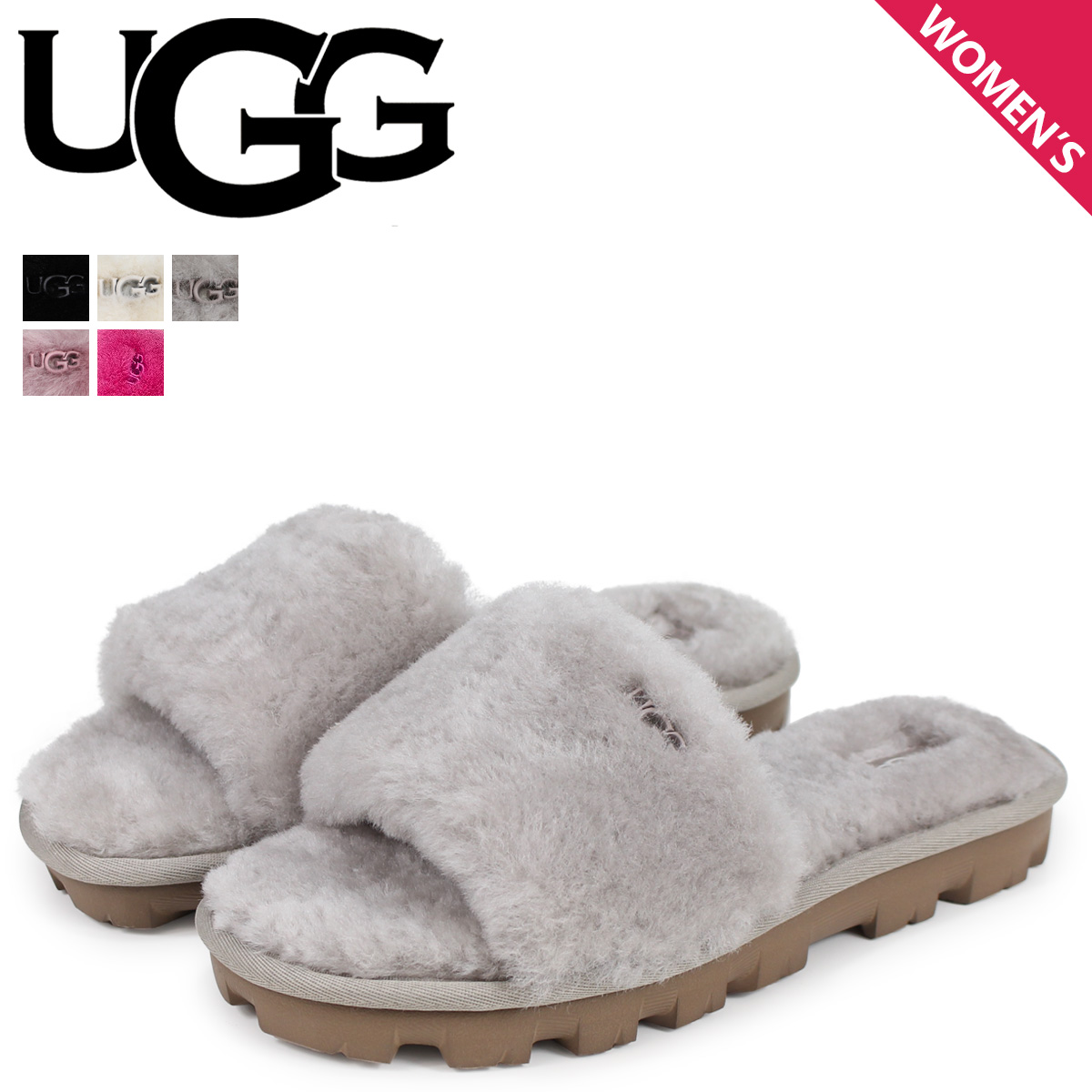 0364742dde32 アグ UGG sandals farce ride sandals Cosette Lady s mouton sheepskin WOMENS  COZETTE 1100892  1 18 Shinnyu load