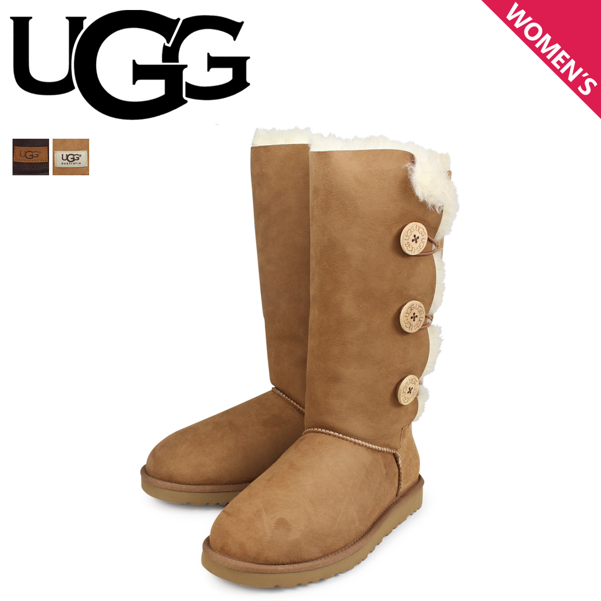 9dda5b3cafb Sugar Online Shop: 1873 アグ UGG boots mouton boots Bailey button ...