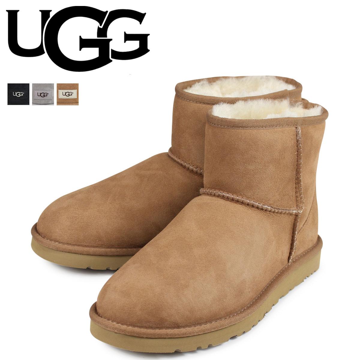 アグ UGG ムートンブーツ メンズ クラシック ミニ MENS CLASSIC MINI 1002072