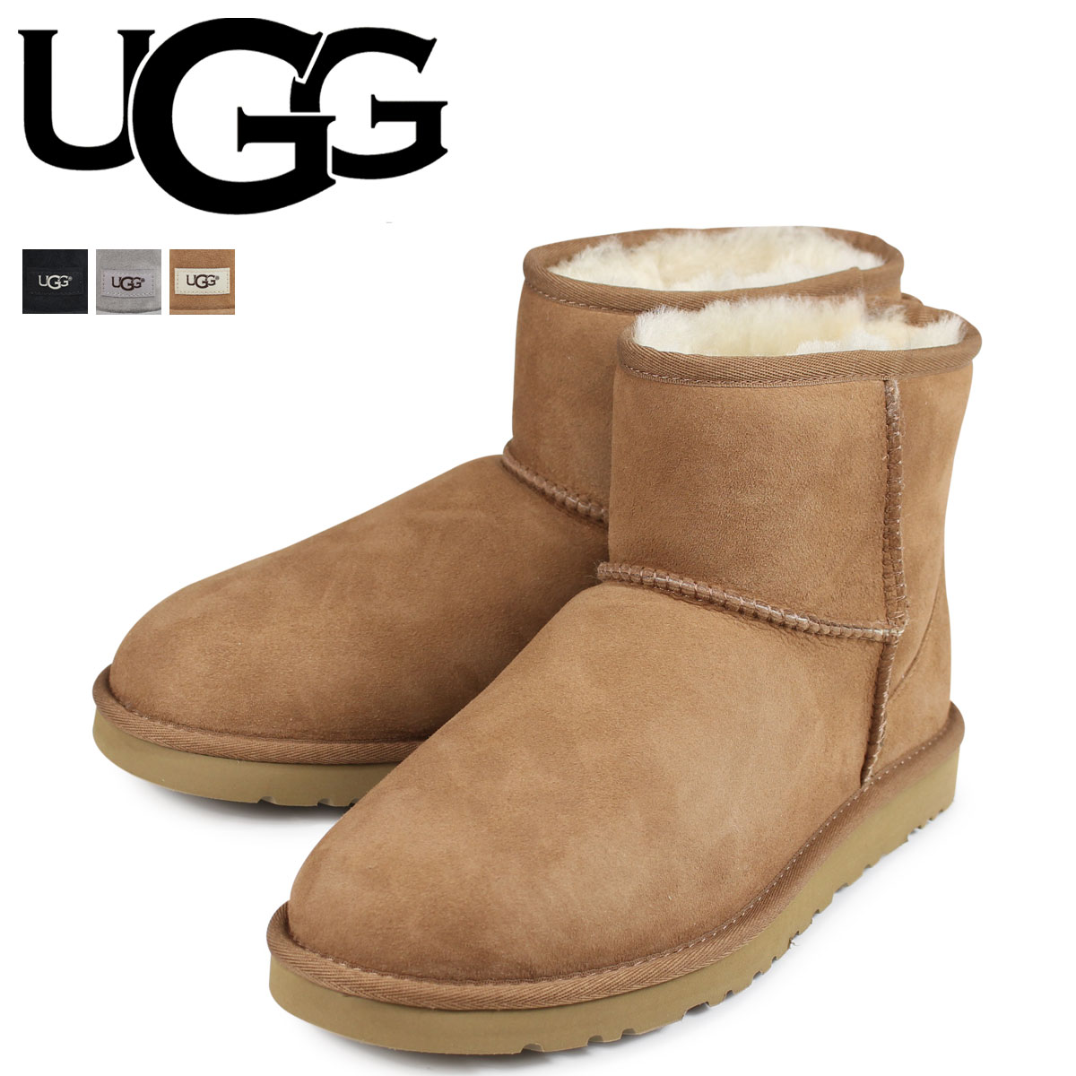 7e8fba08d4f アグ UGG mouton boots men classical music mini-MENS CLASSIC MINI 1002072