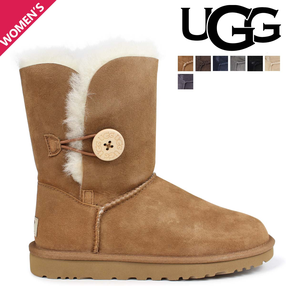 48c000b4f51 アグ UGG boots mouton boots Bailey button 2 Lady's Bailey button 2 5803  1016226 WOMENS BAILEY BUTTON II