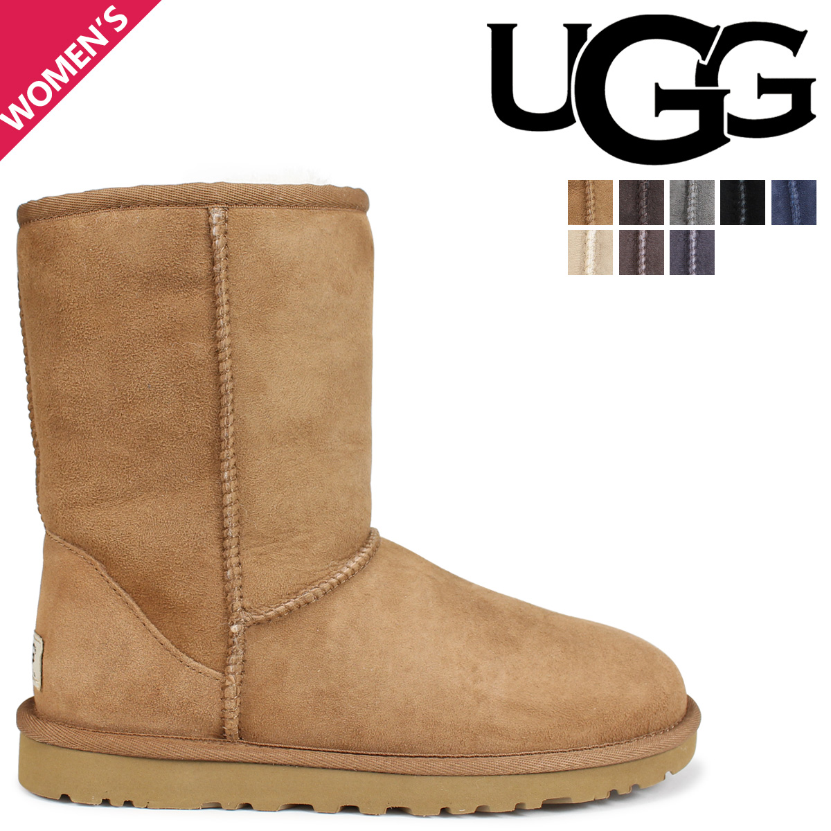 cf5bc51940d «Reservation products» «11 / 5 days will be in stock» ★ 43% ★ UGG UGG  women's classic short Shearling boots 5825 WOMENS CLASSIC SHORT Womens ...