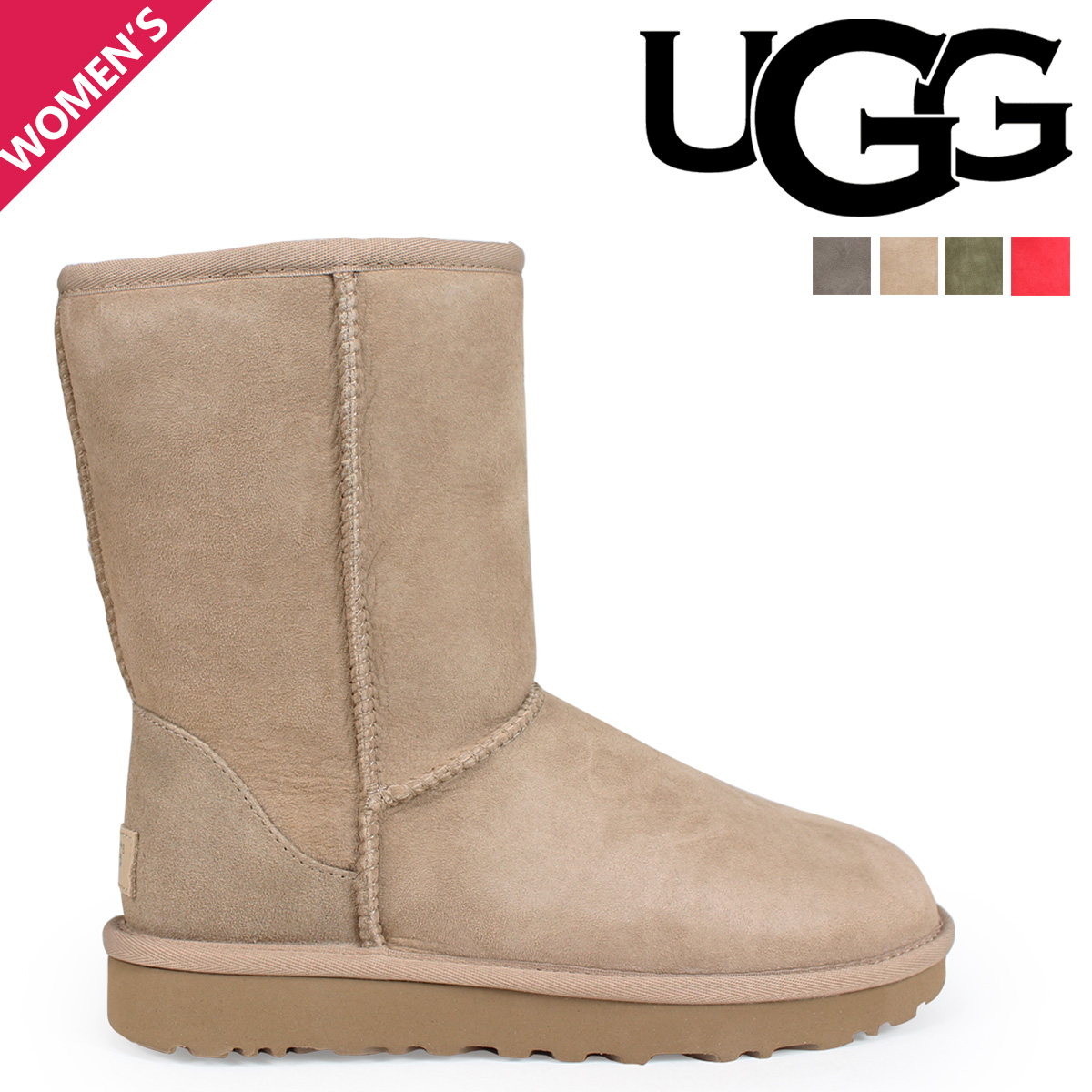 660ac4cefe2d Sugar Online Shop  アグ UGG mouton boots Lady s classical music ...