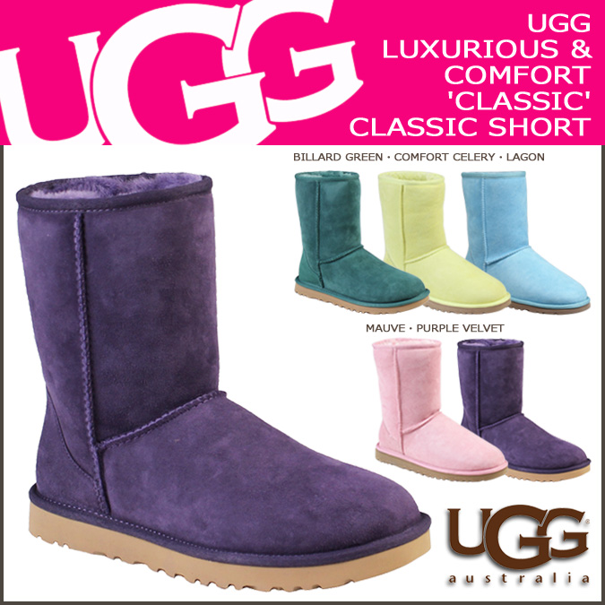 UGG Ugg Classic short boots 5825 WOMENS CLASSIC SHORT Sheepskin women's FALL 2013 new boots 45% off!