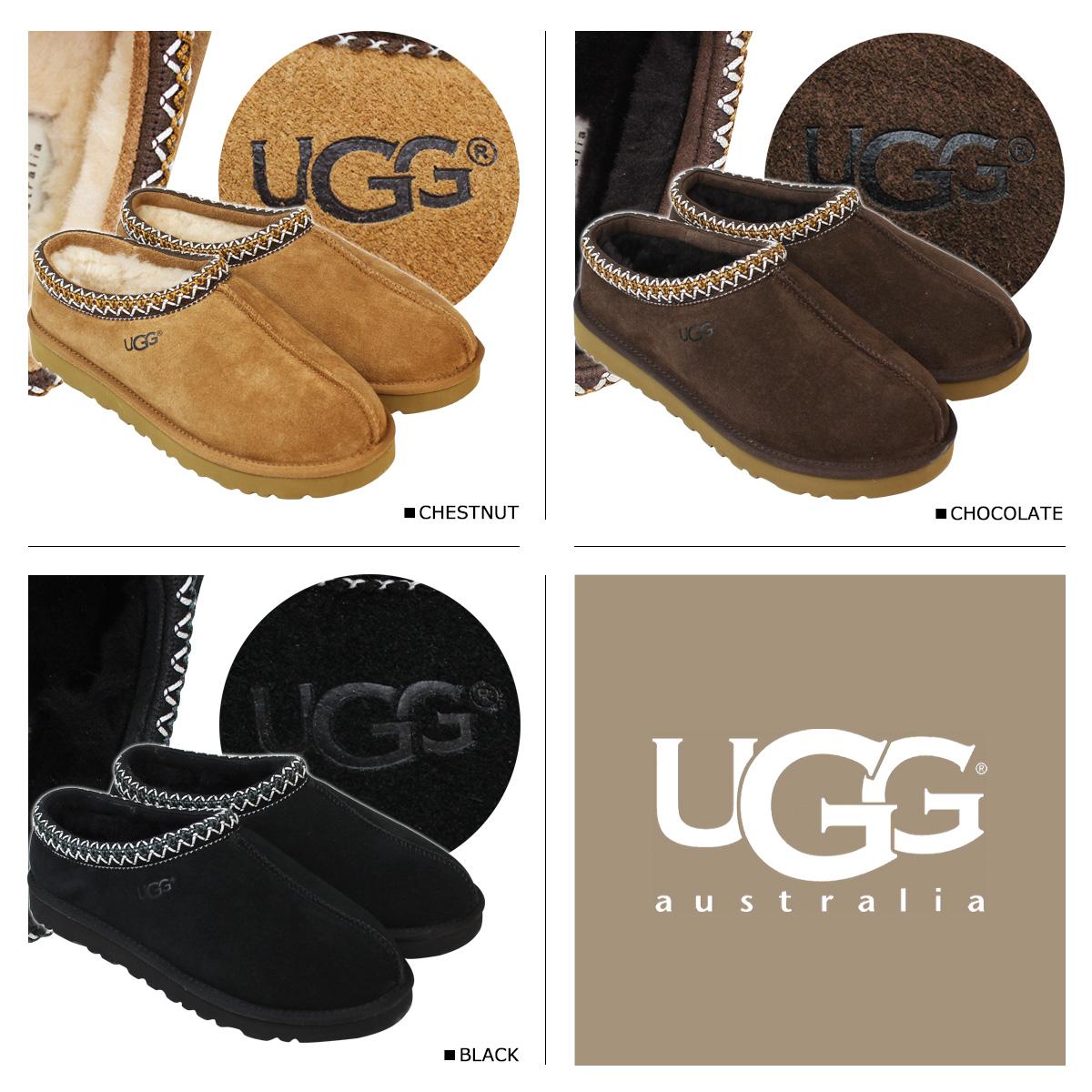 8a5c216b67f アグ UGG slip-ons mouton TASS man men sheepskin MENS TASMAN black brown black  5950