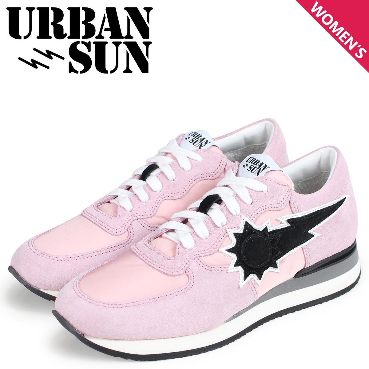 URBAN SUN アーバンサン ドリス スニーカー レディース DORIS ピンク