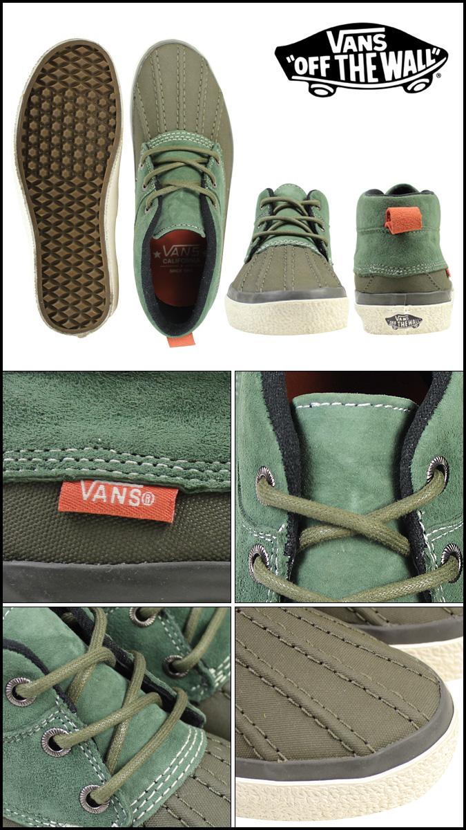 a19c5d0c6d Vans VANS CHUKKA DEL PATO CA sneakers vans chukka del Pato California suede    canvas mens Womens VN-0QE98QK tarmac unisex  regular