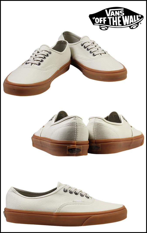 Vans VANS authentic sneakers AUTHENTIC GUMSOLE VN-0W4NDVQ men gap Dis shoes  white white