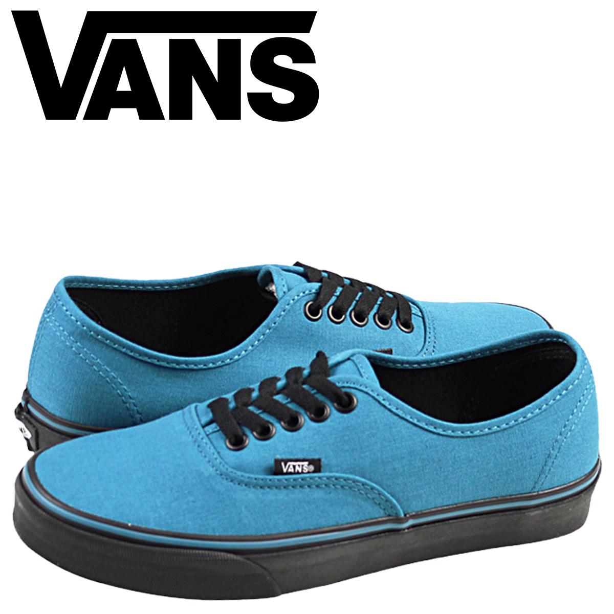 36ca4d03fee Vans VANS authentic sneakers AUTHENTIC BLACK SOLE VN-0YS7EOQ men gap Dis shoes  blue