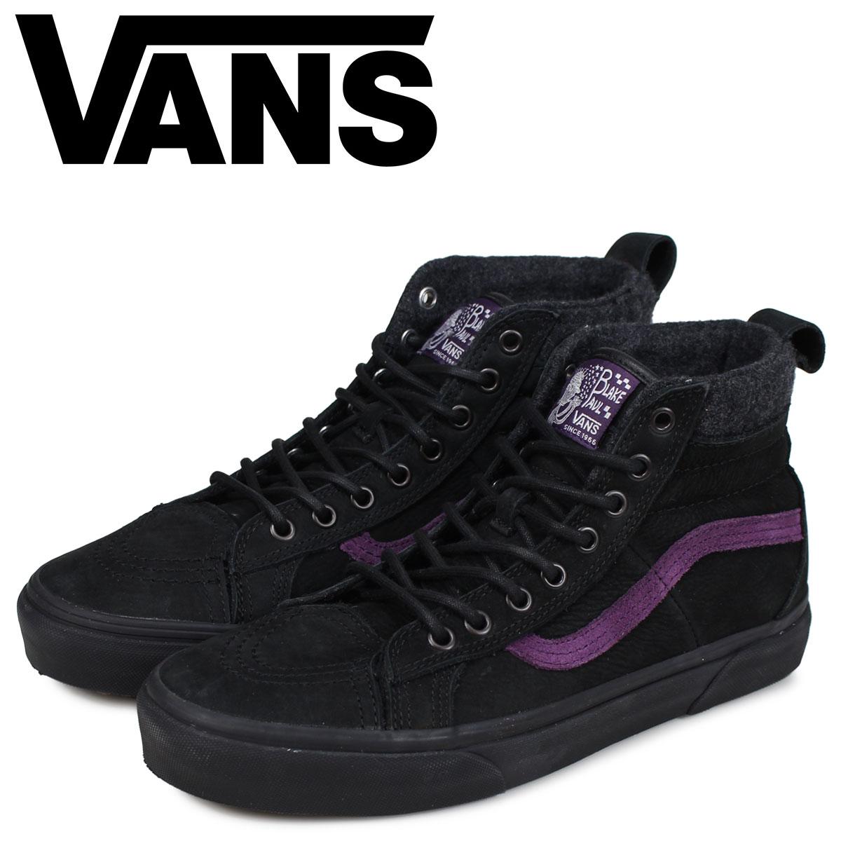 554b441108 Vans SK-HI North Face THE NORTH FACE sneakers men VANS station wagons  skating high 46 MTE DX black black NF0A3MLG 085