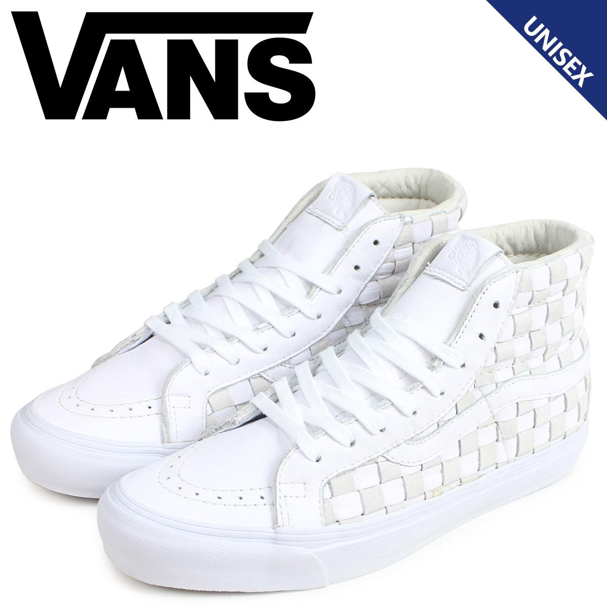バンズ VANS スニーカー スケートハイ メンズ レディース ヴァンズ VAULT OG SK8-HI LX ホワイト 白 VN0003T0IM4