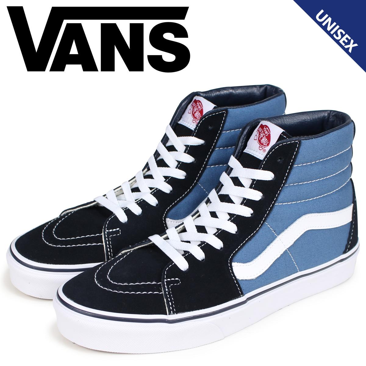 95a8b9b83d Vans SK8-HI sneakers men gap Dis VANS station wagons skating high  VN000D5INVY navy  9 5 Shinnyu load