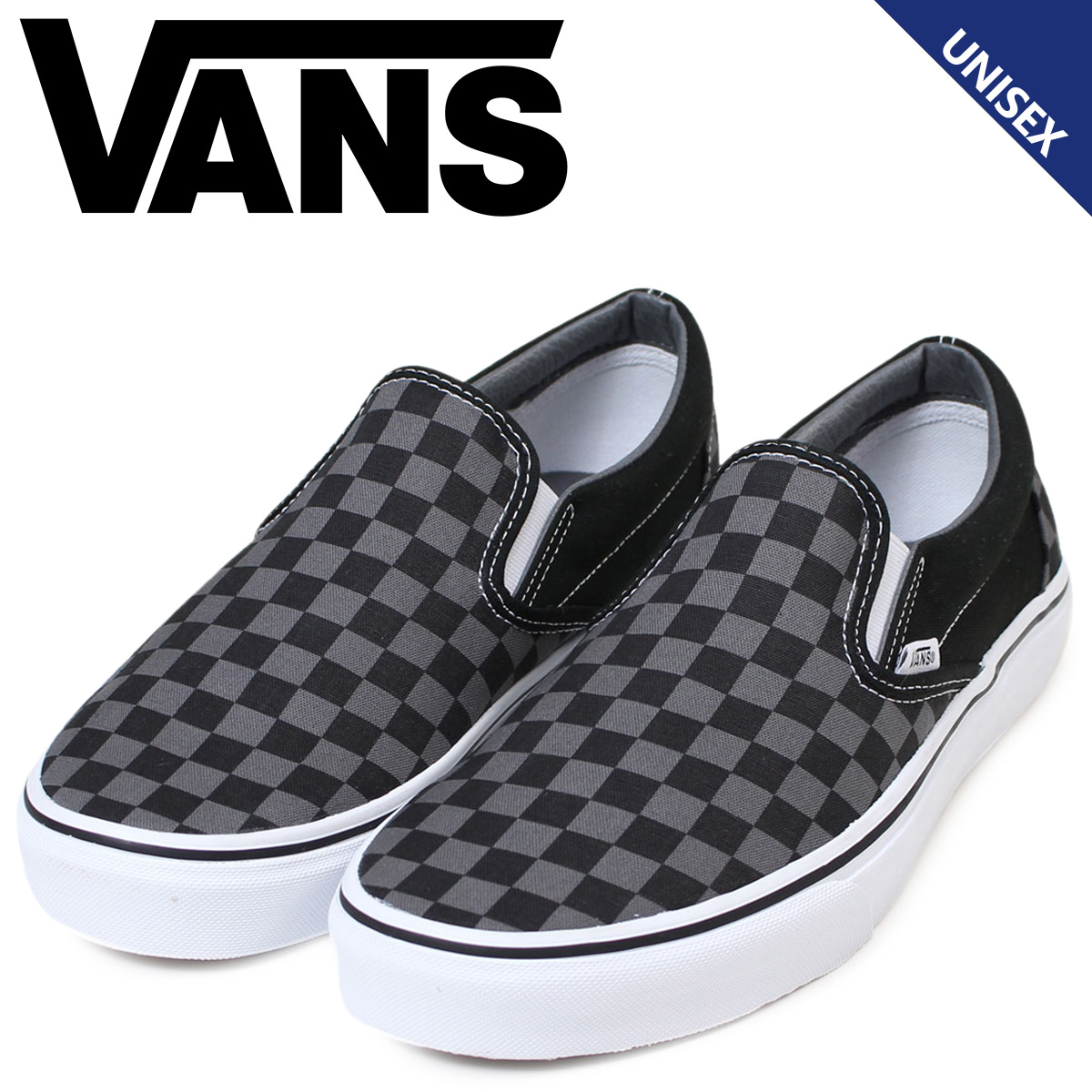 4e60c42d86f204 Sugar Online Shop  Vans slip-ons VANS sneakers men gap Dis station wagons  SLIP ON VN000EYEBPJ shoes black