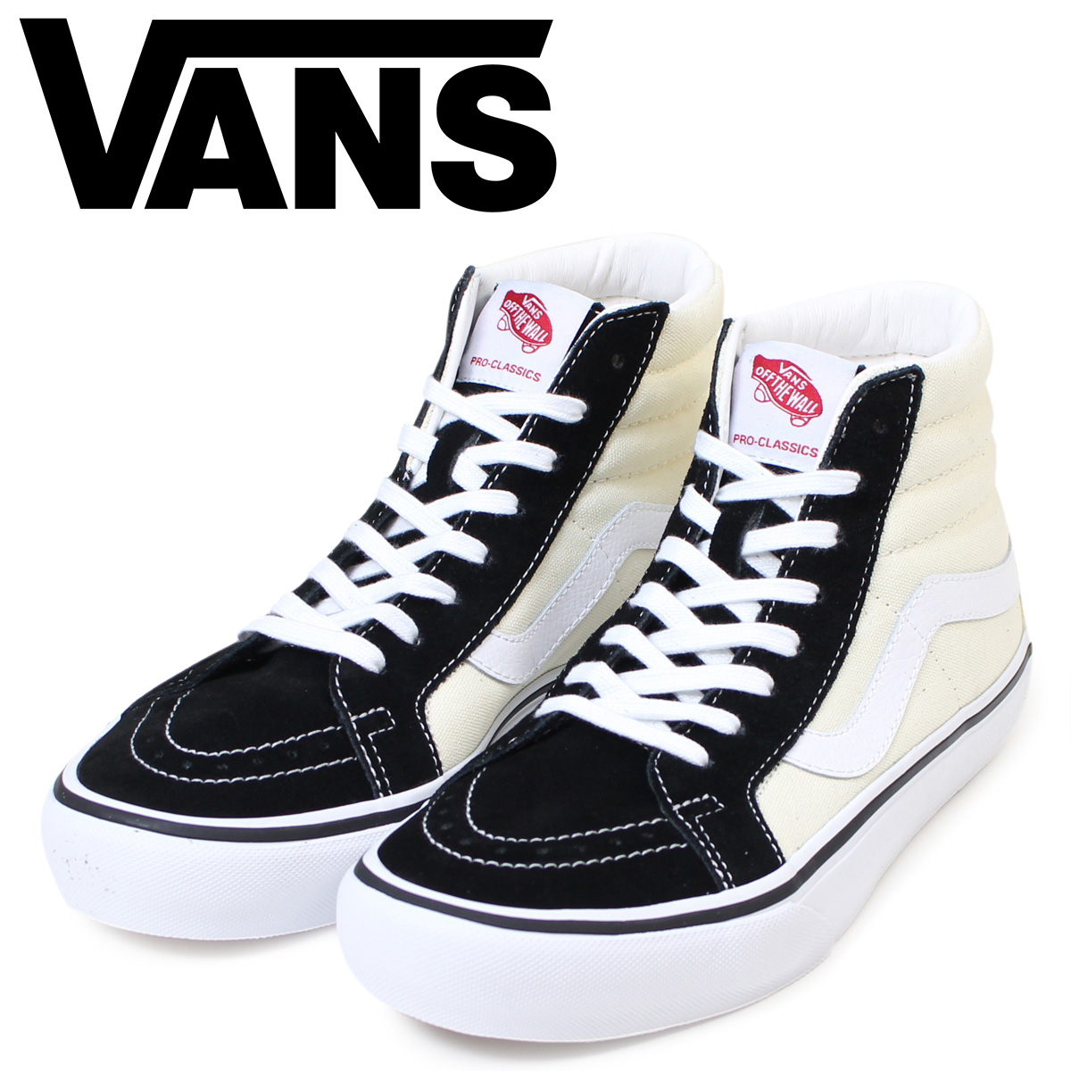 4e4cddf2f5 VANS SK8-HI vans sneakers men station wagons higher frequency elimination  REISSUE PRO VN000VHGJ6G shoes black X white  1 25 Shinnyu load