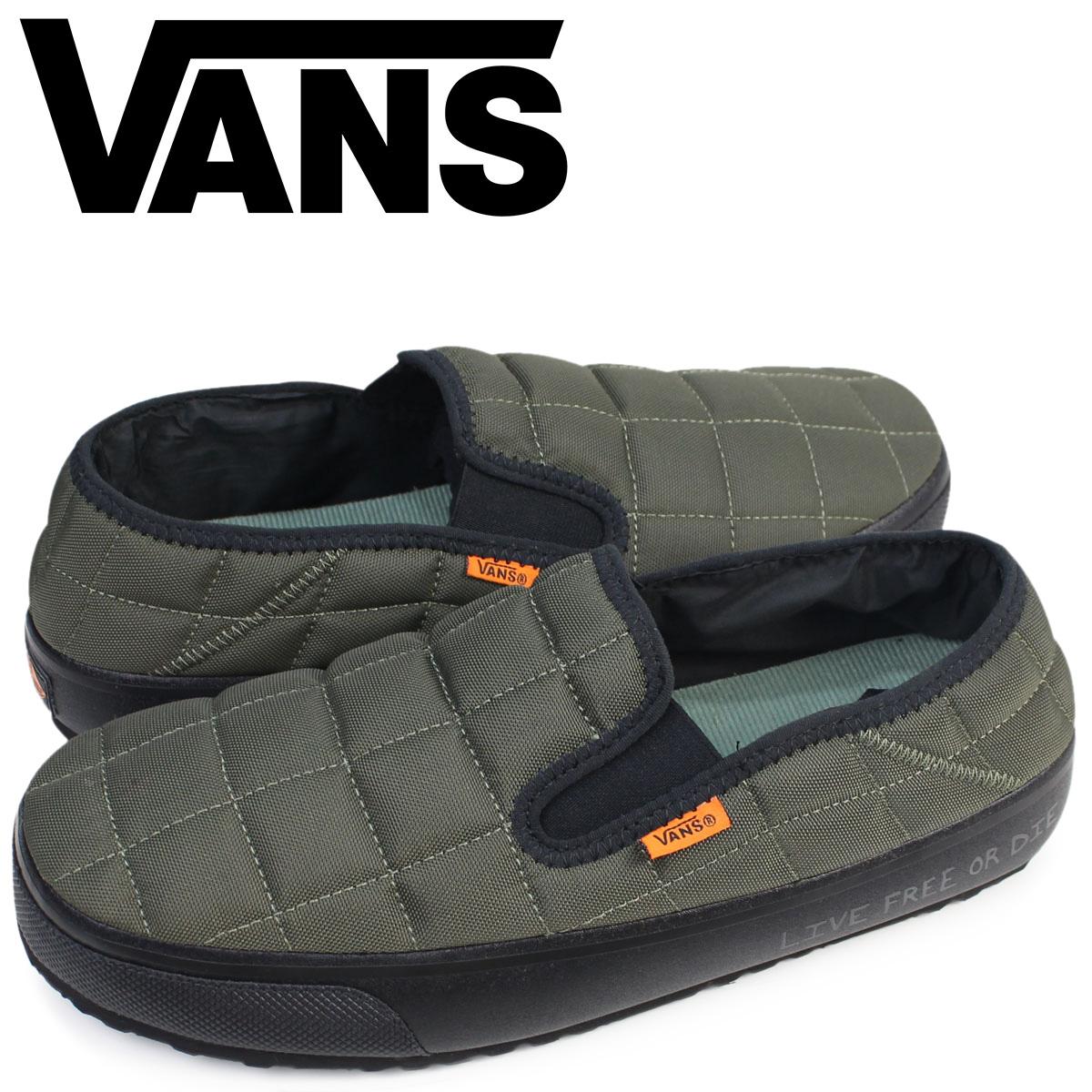 31b82d8bb0a2dd Sugar Online Shop  Vans slip-ons slippers men VANS station wagons SLIP-ER  VN0A344OOQR shoes olive sandals room shoes pat Moore