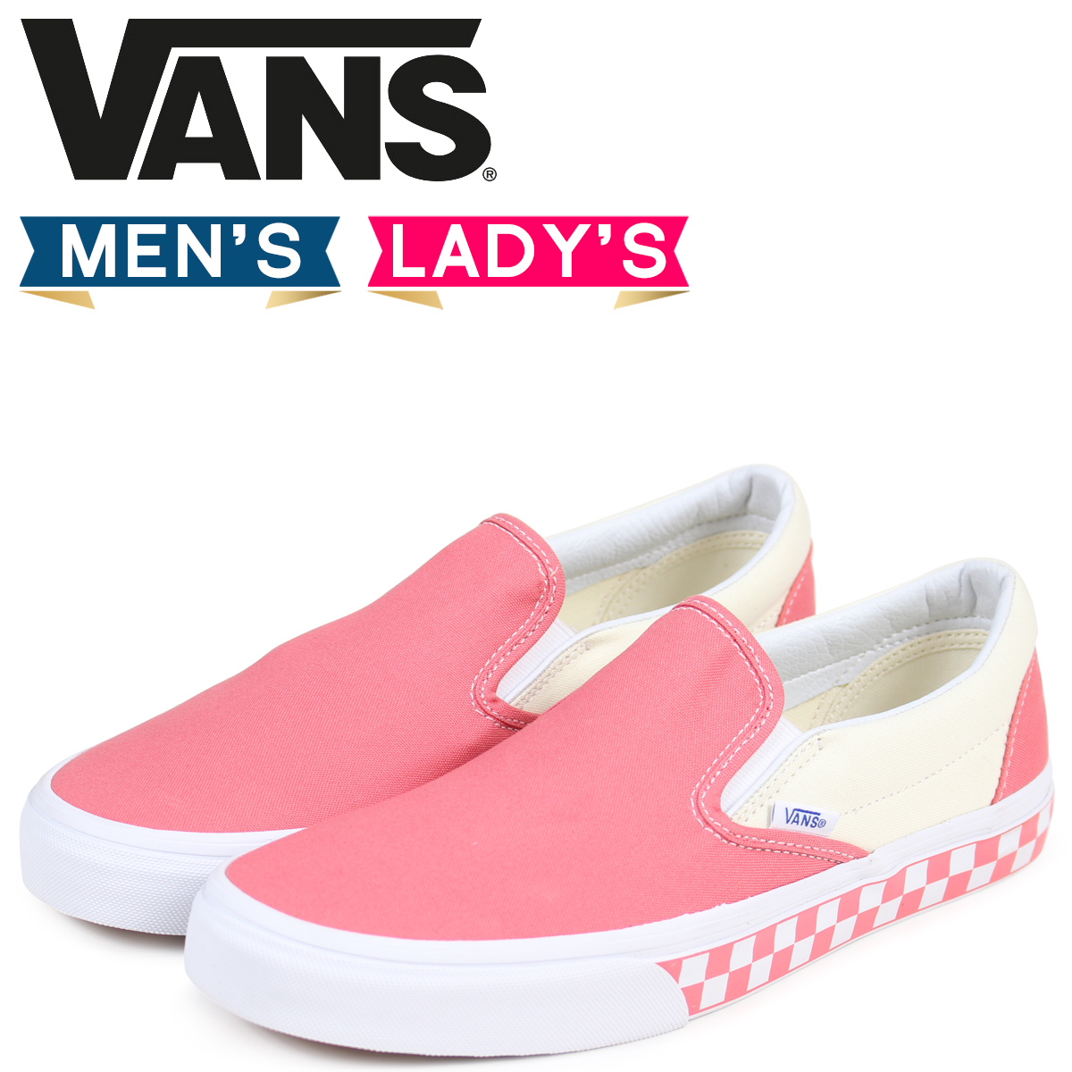 04b940df92007e Vans slip-ons sneakers men gap Dis VANS station wagons CLASSIC SLIP-ON  VN0A38F7QCI pink