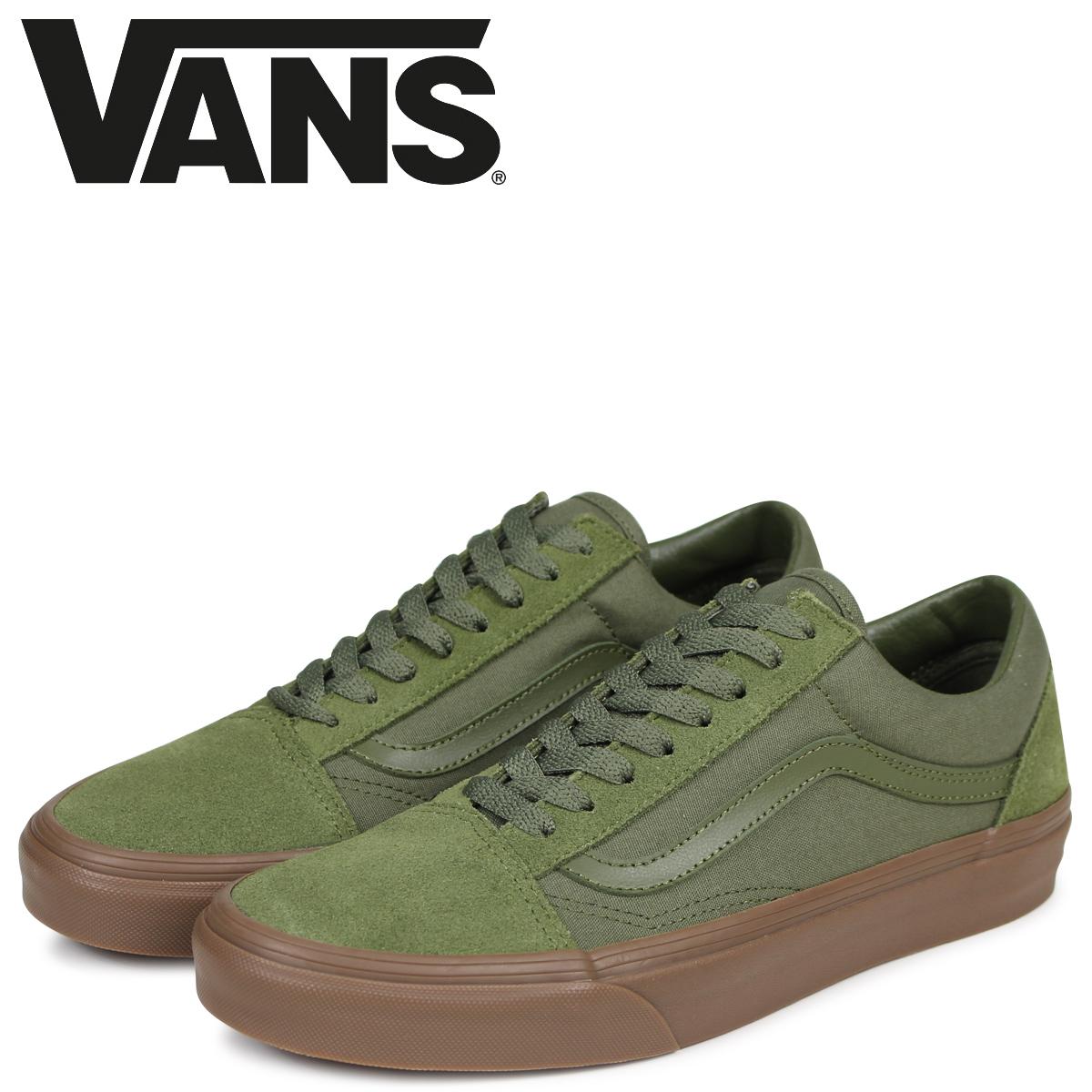 Station Old Sneakers Olive Vans School Men Wagons Vn0a38g1qw4 Skool TlFK1cJ
