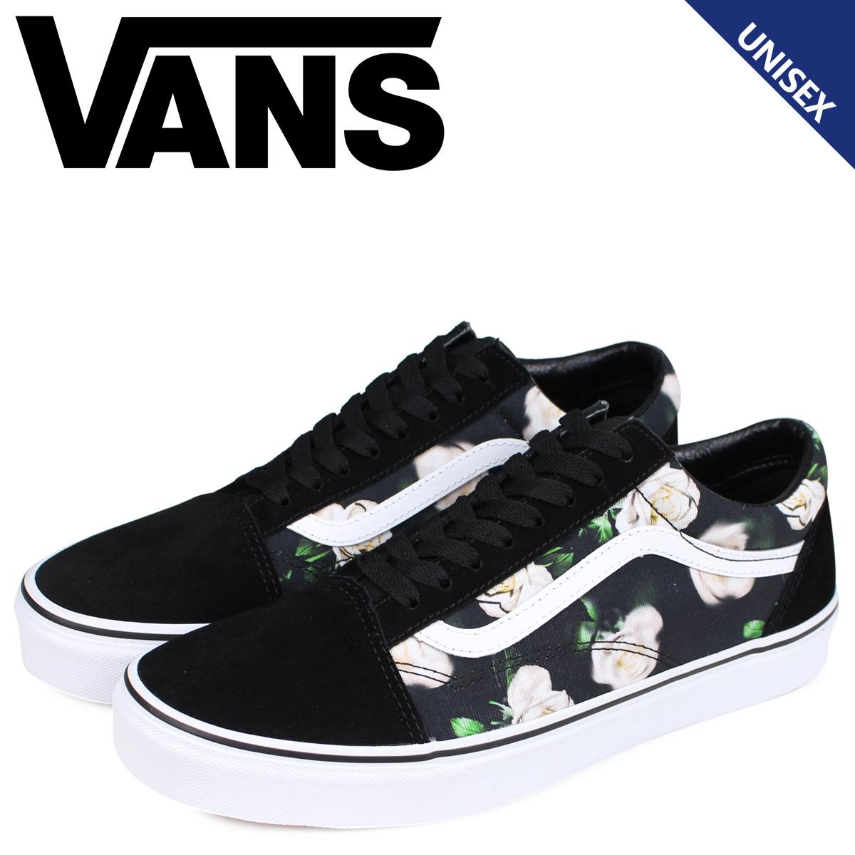 Vans VANS old school sneakers men gap Dis station wagons OLD SKOOL ROMANTIC FLORAL black black VN0A38G1VRK