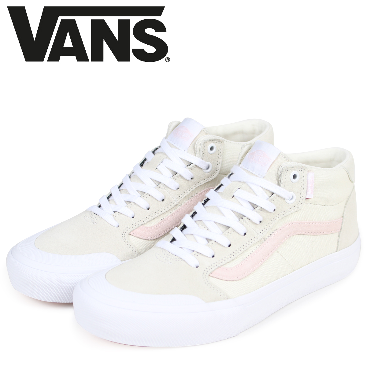 a1642c2a2df0 112 vans STYLE 112 MID PRO sneakers men VANS station wagons-style mid pro  VN0A3DOVQOH off-white  3 1 Shinnyu load