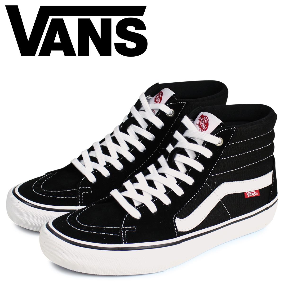 バンズ VANS SK8-HI PRO スニーカー メンズ ヴァンズ スケートハイ ブラック 黒 VN000VHGY28