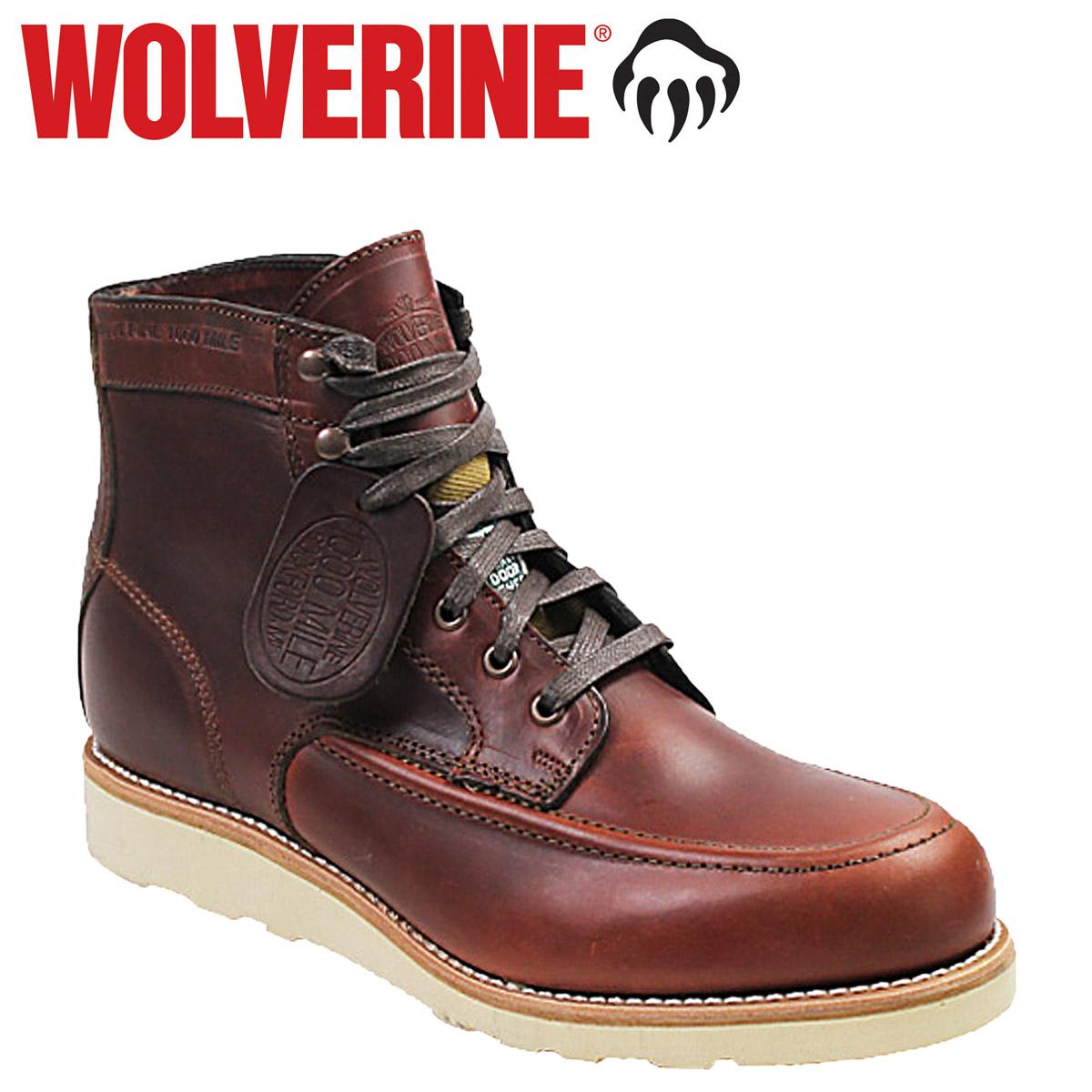 46419a339e8 WOLVERINE×FILSON Wolverine 1000 mile Emerson wedge  last  1000 MILE EMERSON  WEDGE leather mens boots BOOTS Filson W00283  4   5 new in stock   regular   ...