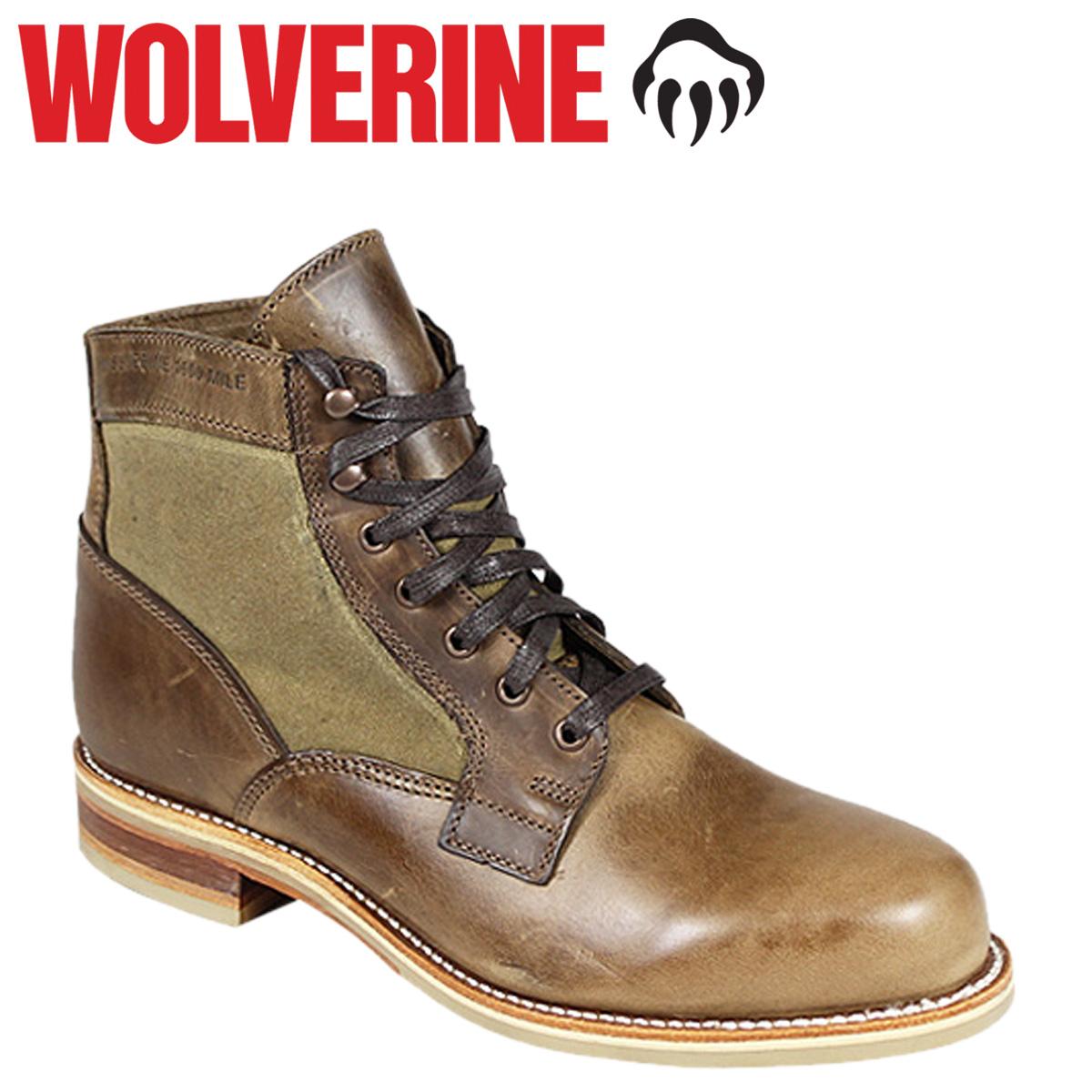 WOLVERINE ウルヴァリン 1000マイル ブーツ WHITEPINE 1000 MILE BOOT Dワイズ W00402 ナチュラル ワークブーツ メンズ