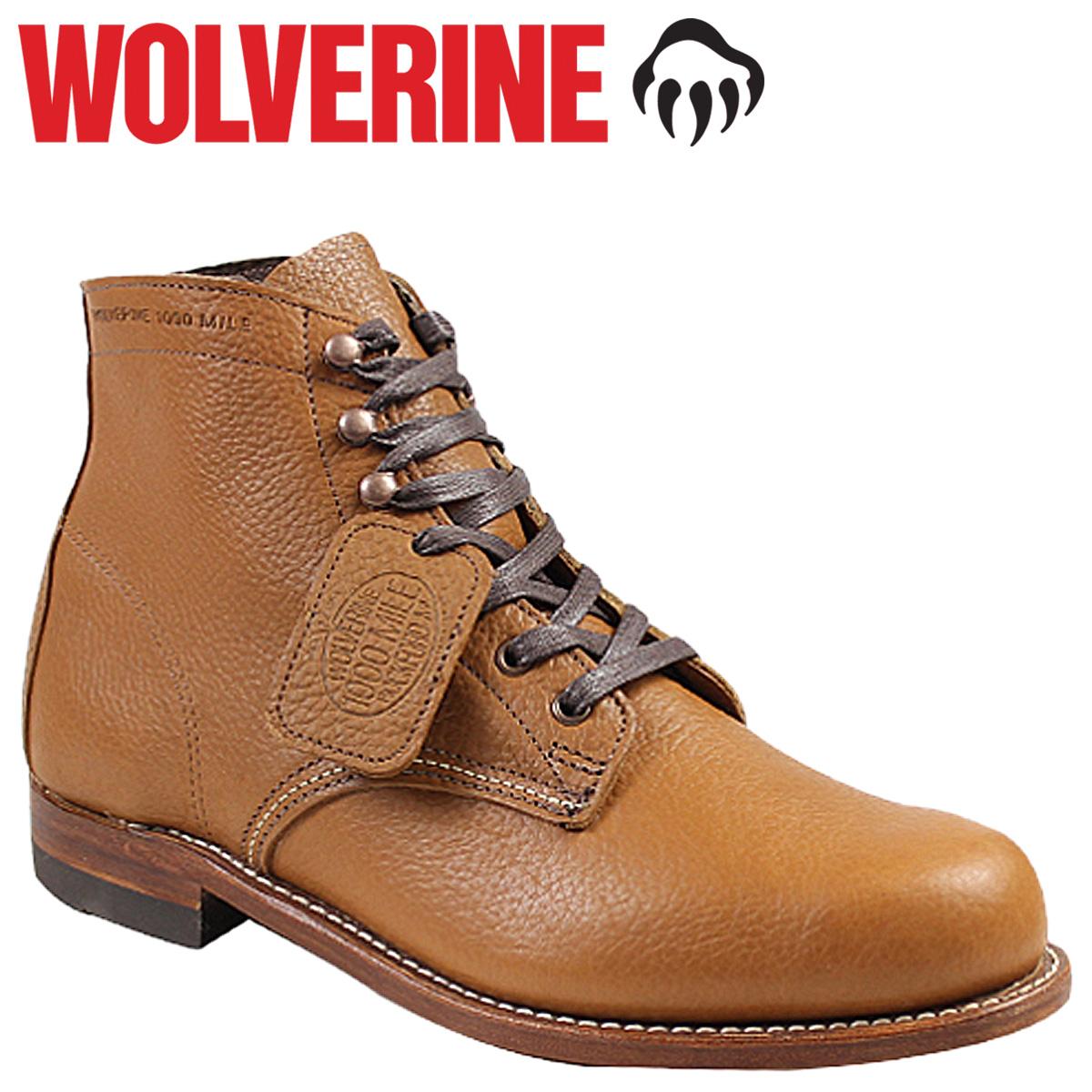 WOLVERINE ウルヴァリン 1000マイル ブーツ CENTENNIAL 1000 MILE BOOT Dワイズ W00910 ワークブーツ メンズ
