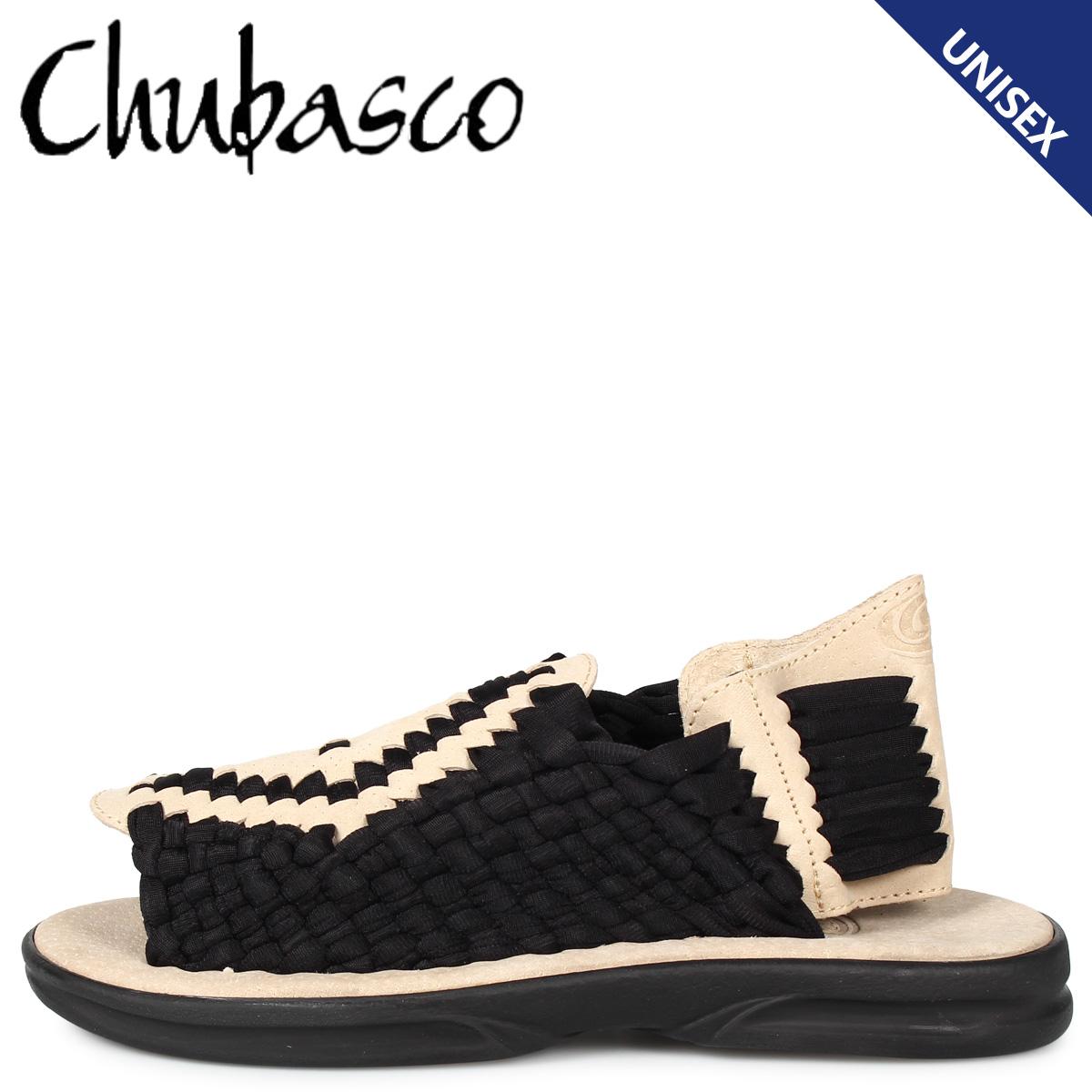 CHUBASCO チュバスコ アズテック サンダル スポーツサンダル メンズ レディース AZTEC ブラック 黒 A00061