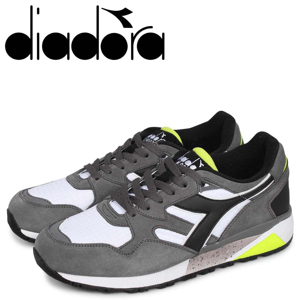 Diadora ディアドラ ニュートラ 9002 スニーカー メンズ N9002 グレー 173073-4400