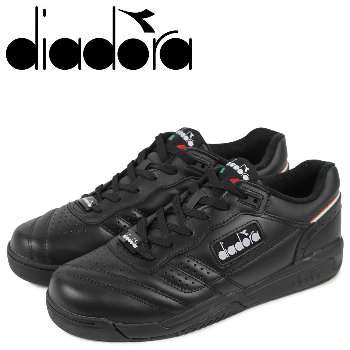 Diadora ディアドラ アクション スニーカー メンズ ACTION ブラック 黒 175361-0641