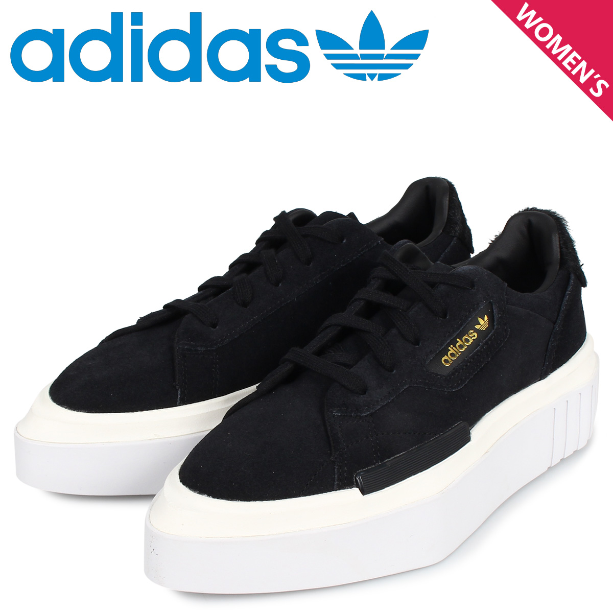 adidas Originals アディダス オリジナルス ハイパースリーク スニーカー レディース HYPERSLEEK W ブラック 黒 EE7037